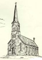 First Immanuel Lutheran Church Drawing 2
