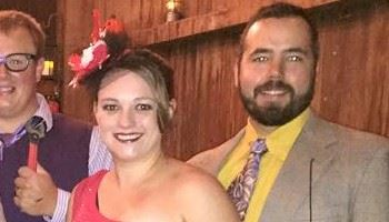 Laura Allen (Christianson) and her husband Kyle