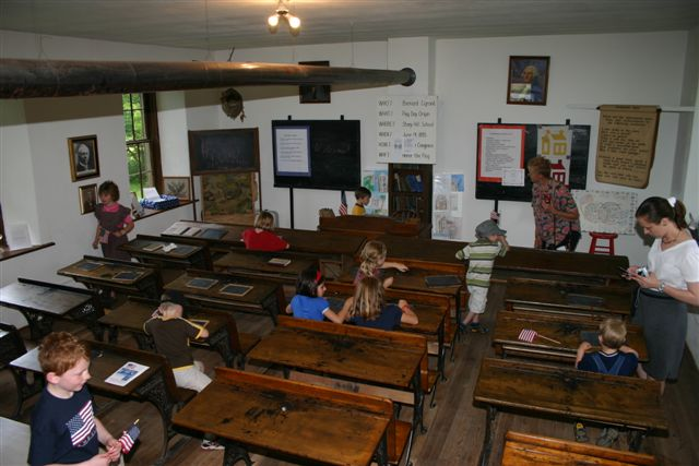 Children in Single Room Schoolroom