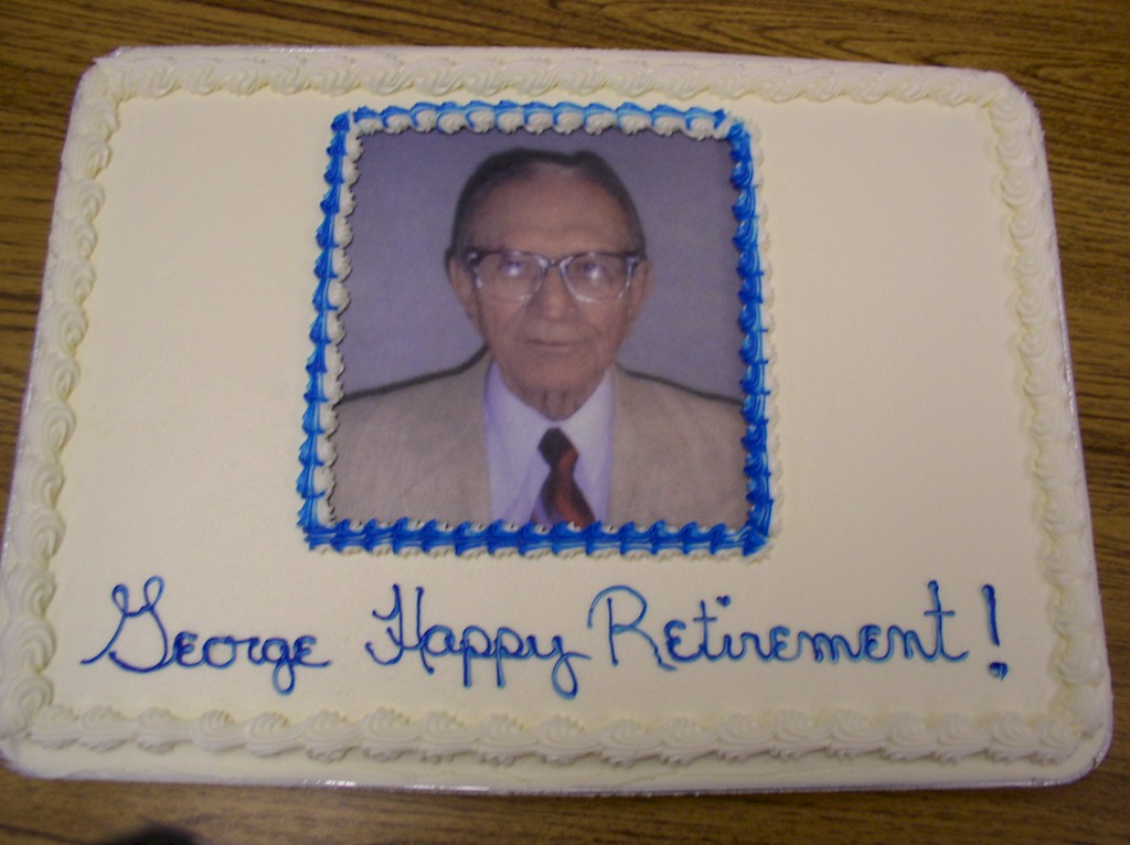 George Lampert Retirement