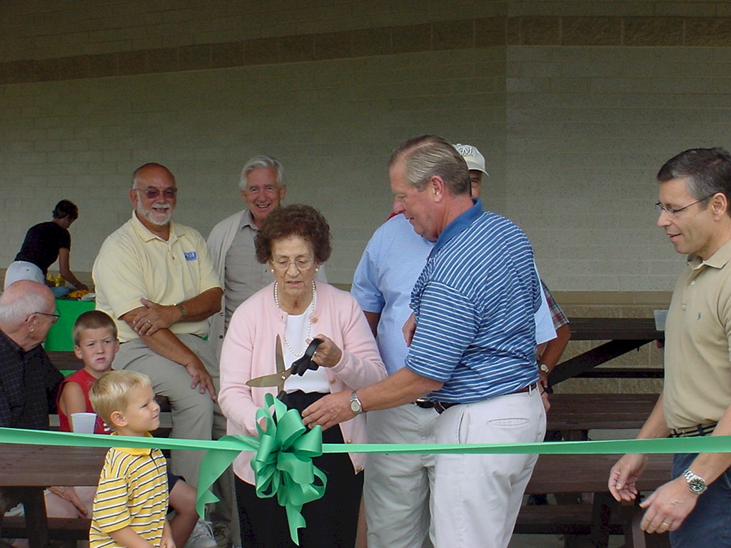 Tendick Park Shelter Dedication 021