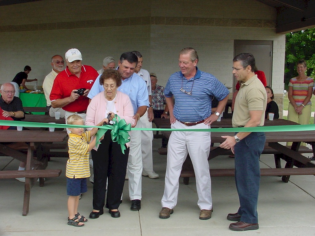 Tendick Park Shelter Dedication 022
