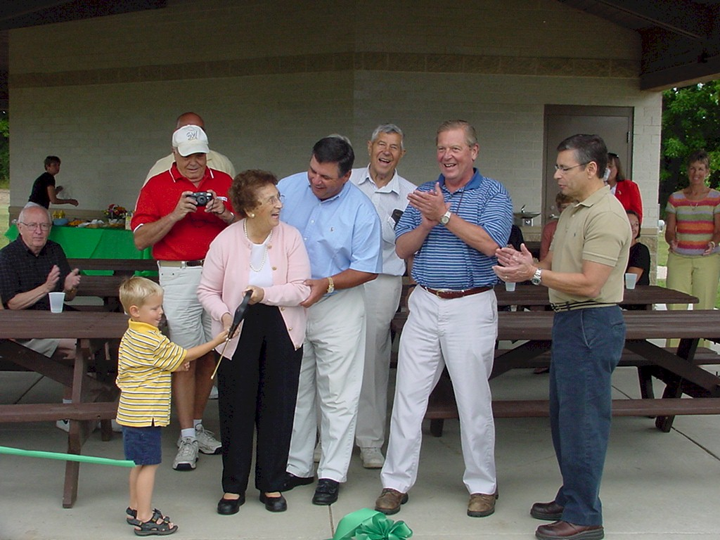 Tendick Park Shelter Dedication 023