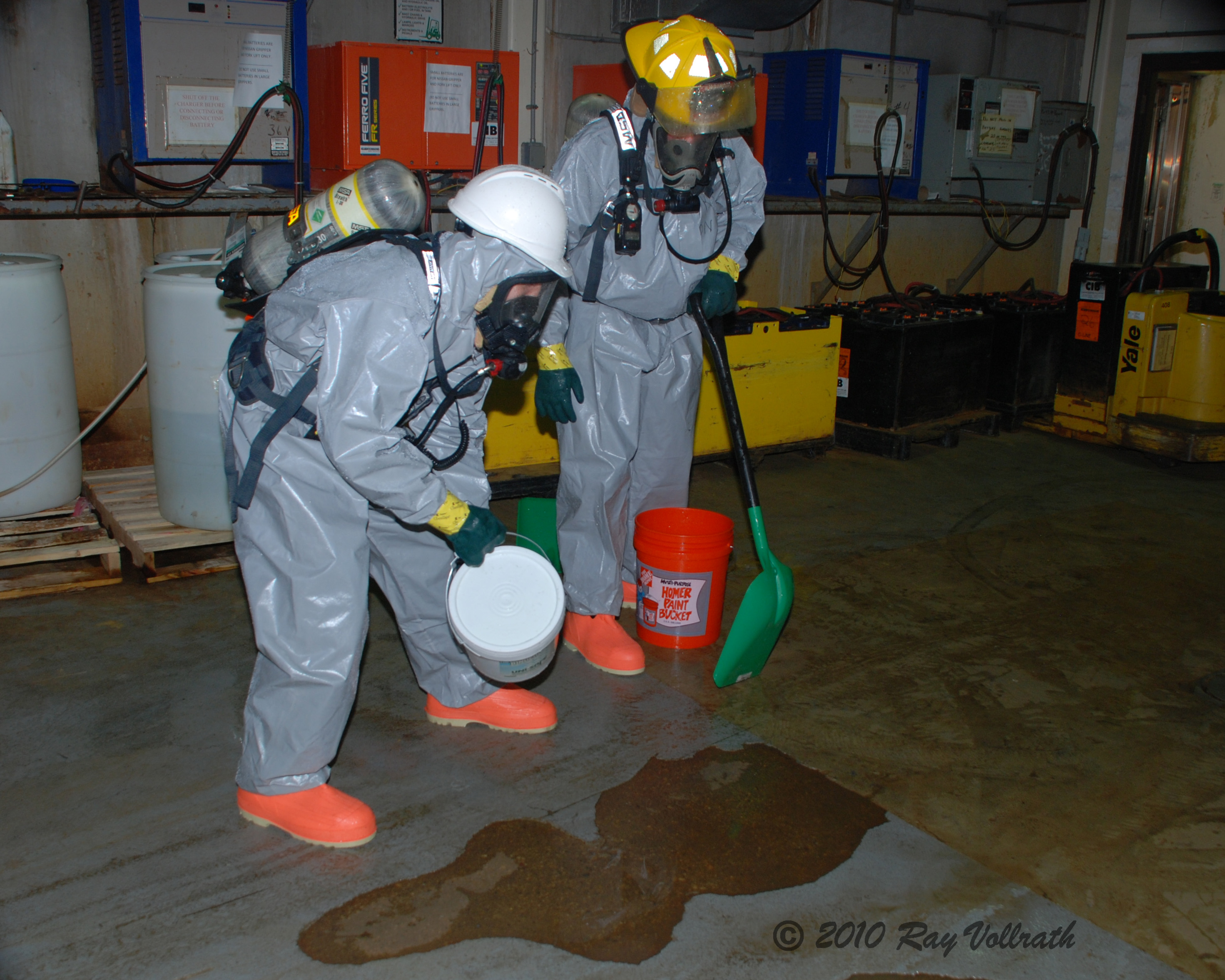 Cleaning Up Spills