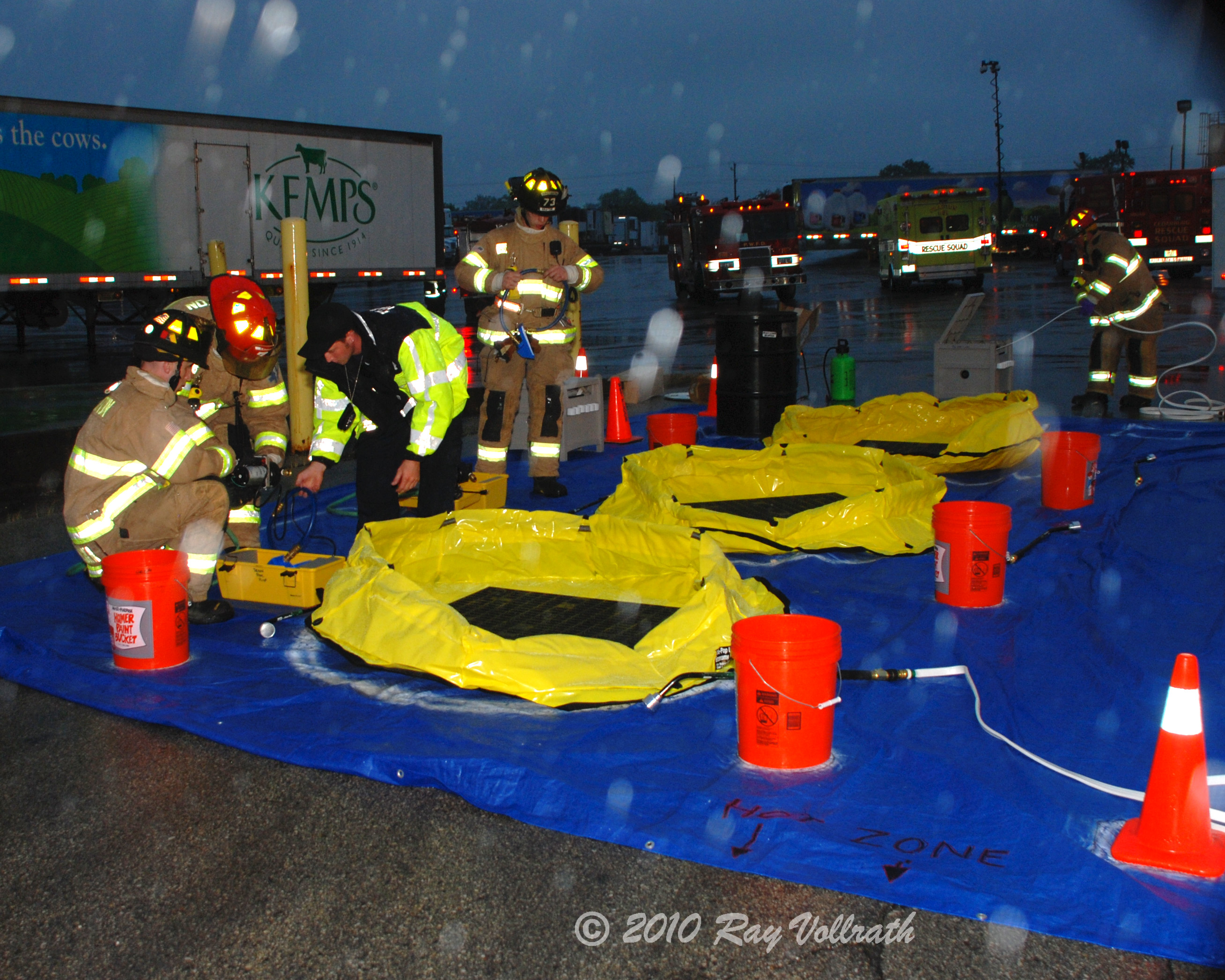 Hazmat Inflatable Pools