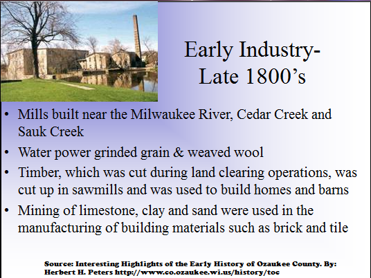 Early Industry - Late 1800s