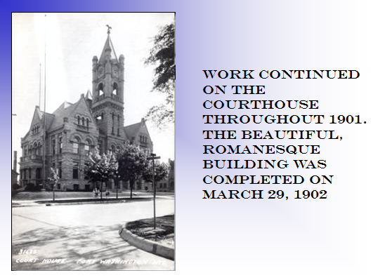 Work Continued on Courthouse