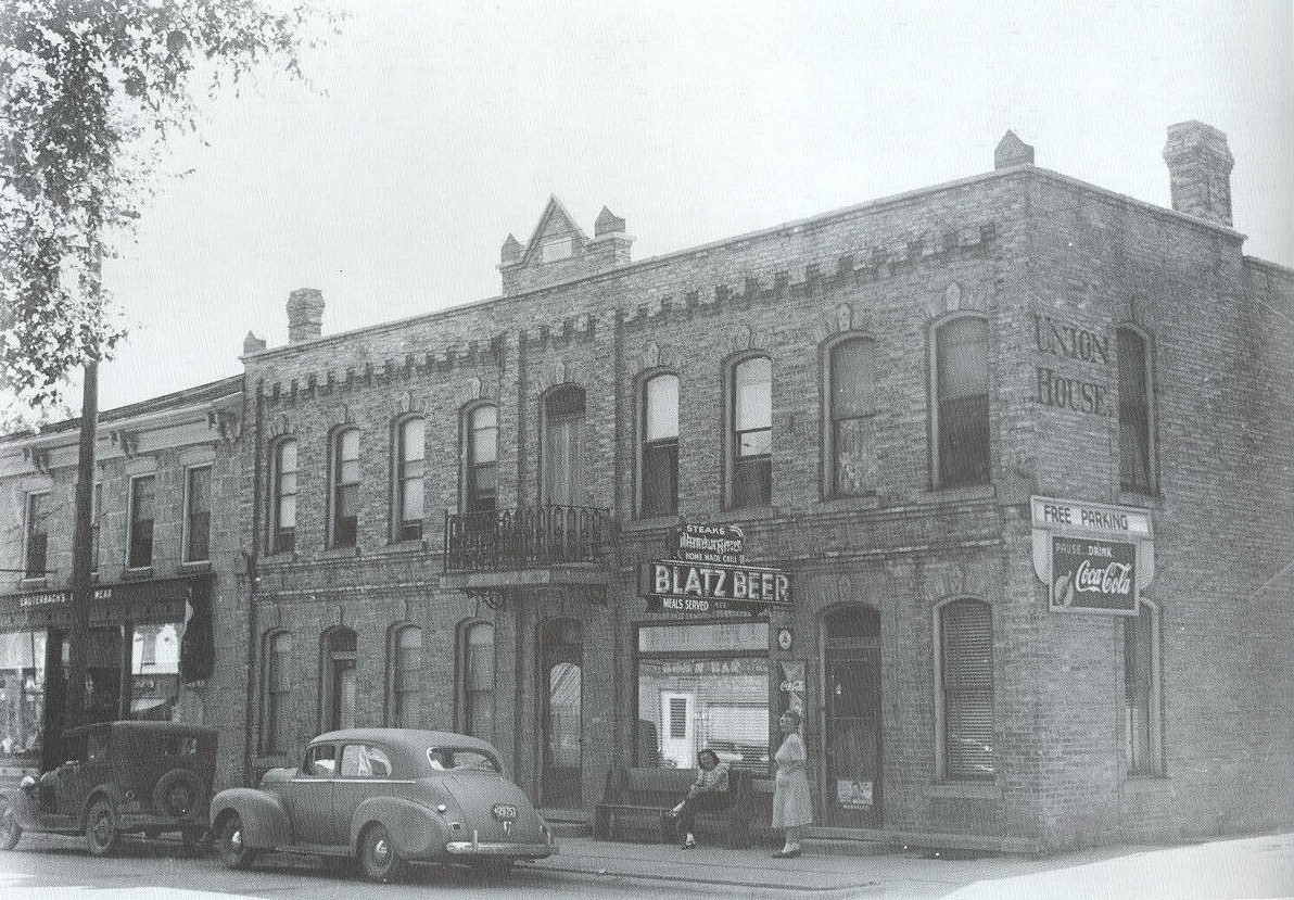 Old photo of the Union House Hotel.