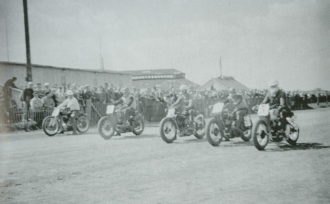 Motorcycle race.