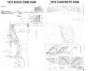 Bridge Street Dam Diagrams and Aerial Views 012
